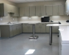 Specially designed room for animal intake, exams, treatment, grooming and other uses.