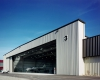 This full-service hangar was completed in just seven months