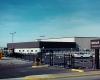 Alternate view of hangar.