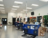 The showroom provides walk-up counters and inventory space.