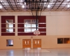 A full size gymnasium is among the interior amenities.