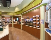 The interior blends The Station's distinctive look and feel and the practical needs for convenience store shoppers.