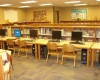 Media centers and other core education spaces districtwide were renovated