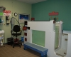 The pool room for providing aquatic therapy treatment