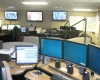 The dispatch room is designed with eight dispatch stations