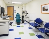 One of 14 exam rooms in two pods for full vision and eye care services