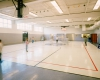 Improvements included renovated gymnasiums