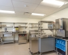 The skilled nursing expansion also provides a new serving kitchen