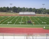 One of the centerpiece projects was renovation of the district's football and soccer complex
