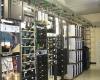 Server room of Saline County E-911 Facility