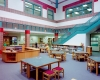 English Landing's media center shows the school's visual appeal
