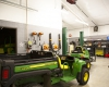 The interior is designed to accommodate the full range of maintenance equipment and tools