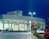 The distinctive design creates one of the most iconic dealerships in the region
