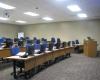 The large classroom in the Police Academy seats up to 60 for training related to new officers and officer recertification as well as hosting regional training programs