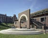 The new amphitheater provides space for gathering and campus performances and events