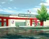 Conceptual design for new Mabee Sports Center.