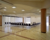 View of renovated ballroom for campus events