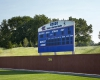 Improvements included a new scoreboard and an expanded outfield.