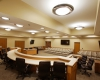 Courtroom/Council chamber seats 60