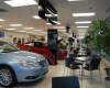 View of the renovated new vehicle showroom