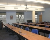 The ground floor classroom accommodates about 50 students