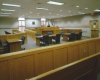 View of courtroom space