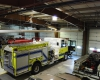 Bays for fire apparatus were also expanded and updated