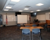 An 850-sq.-ft. room is designed for training and other multipurpose uses