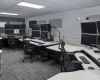 The dispatch room is designed around the district's operational protocols and communications equipment needs