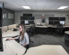 The dispatch room provides four dispatch stations and is hardened to meet FEMA 361 standards for storm resistance