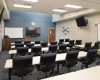 This Police Dept. area provides space for training and briefings