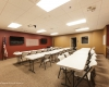The training/multi-purpose room seats 45