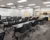 A large training and multi-purpose room meets the district's training space needs